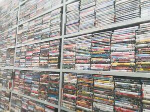 PACCO SORPRESA 100 DVD USATI - AUDIO ITALIANO (OTTIMO PER MERCATINI E FIERE)