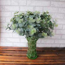 New Artificial Plants Green Leaves Fake Leaf Eucalyptus Wedding Party Home Decor