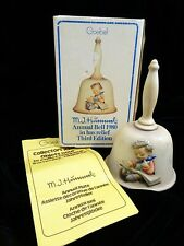 Mi Hummel 1980 Annual Bell 702 Goebel Third Edition Thoughtful West Germany Vtg