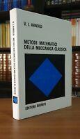 Editori Riuniti∎Arnlod➔Metodi Matematici Meccanica〈matematica┃analisi┃razionale〉