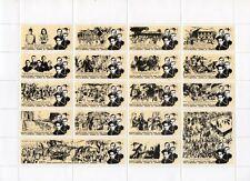 PHILIPPINES Sheet of Stamps/Labels Father Jose Burgos Gomez Zamora Gomburza Nice