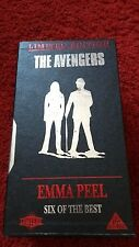 THE AVENGERS-Emma Peel Collection-Six of the Best Limited Edition Box Set-VHS