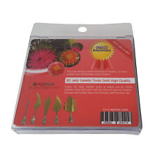 High Quality 3D Jelly Gelatin Tools Art Flowers Tools Daisy (5pcs/Set #5)
