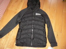 New Free Country Ladies Black Jacket with Hood Size Small 90% Down Filled