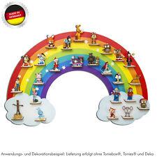 Tonieboxregal Regenbogen für Toniebox® und Tonies® oder Musikbox - magnetisch