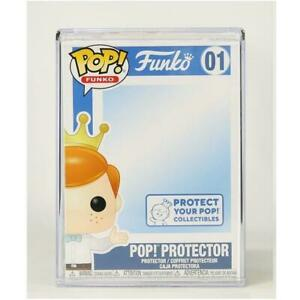 NEW OFFICIAL FUNKO POP HARD STACK POP PROTECTOR #01