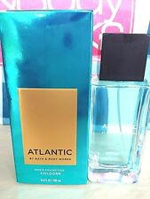 Bath and Body Works Men's Collection ATLANTIC For Men Cologne Spray 3.4 oz