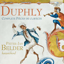Duphly / Belder - Comp Pieces de Clavecin [New CD]