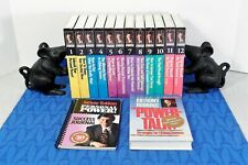 Anthony Robbins Personal Power: A 30 Day Program (24 Audio Cassettes) Open Box