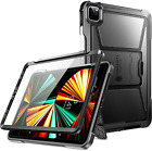 12.9 iPad Pro 5th Gen Case Military Grade Protection Cover Tempered Glass Rugged