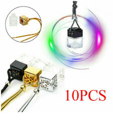 10x Mini Hanging Empty Car Perfume Bottle Diffuser Air Freshner Gadget Ornament