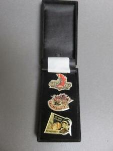 3 CFL Ottawa Football pins /Box..Grey Cup 2004,  Renegade pin, Grey Cup Festival
