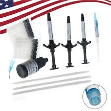 Dental Orthodontic Bonding System Metal Bracket Light Cure Adhesive Kit Set