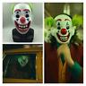 Joaquin Phoenix Joker Movie Clown mask 2019 halloween Costume Horror latex