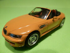 MINICHAMPS   BMW Z3 M ROADSTER -1996 PALE ORANGE 1:43 - RARE SELTEN - EXCELLENT