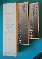 Mary Kay Makeup BRONZE 708 Foundation + Bronze Concealer + Bronze Cream Lipstick