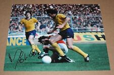 MICKEY THOMAS Manchester United HAND SIGNED Autograph Photo + COA PROOF Man Utd