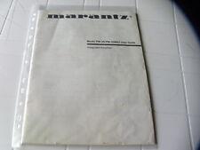 Marantz PM-35  PM-35MK2 Owner's Manual  Operating Instructions Istruzioni