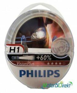 Philips H1 12V 55W P14,5s Vision Plus +60% 2st.