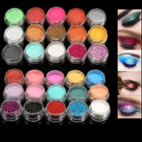 Shimmer Glitter Eye Shadow Powder Palette Matte Eyeshadow Makeup Cosmetic 30Pcs