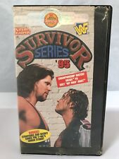WWF Survivor Series 95 Diesel Bret Hart Sycho Sid British Bulldog VHS 1995 WWE