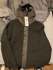 C.P. Company-knitwear-Knit Jacket Wool Goggle Jacket - 05 cmkn 023a 004306a 922
