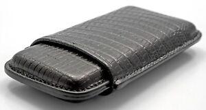 Martin Wess Cigar Lizard Black 505 - 5er - Cow Goat Leather