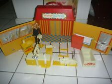 Vintage Boxed Mego Dinah-mite Health Spa with Doll - Minty, Complete!