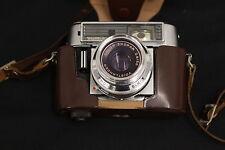 alte Voigtländer Kamera Vitomatic II CS mit Tasche Prontor 500 SKL