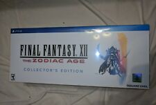 FINAL FANTASY® XII THE ZODIAC AGE COLLECTOR'S EDITION Brand New Sealed PS4