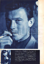 1960, Laurence Harvey / Ricky Nelson Japan Vintage Clippings 3sc12