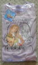 New Girls 100% cotton Mauve Hannah Montana pajamas age 3-4