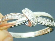 9ct Gold Diamond Hallmarked Eternity ring size N
