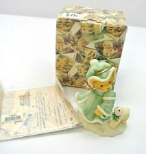 "1999 Enesco Ltd Cherished Teddies Felicia ""Joy To The World"" #533890"