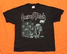 SACRED REICH Vintage Independent 1993 Concert T-Shirt L/XL Original Thrash Metal