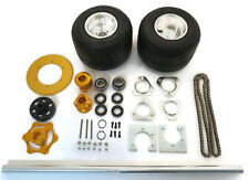 36 Inch Shaft Kit for Drift Trike Bikes with Axle Bearing UC206-20 & Race Hubs