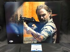 Andrew Lincoln SIGNED 11x14 Photo Grimes Walking Dead AUTOGRAPH BAS BECKETT 5410