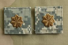 Navy Usn Ia O-4 Lt. Commander Rank Army Acu Hook Back Camouflage Uniform Patch