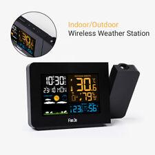 Wireless Weather Station Digital Sensor Indoor Outdoor Projector Forecast LCD