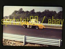 1972 Peter Revson #4 McLaren M20 - Can-Am Watkins Glen - Vtg 35mm Race Slide