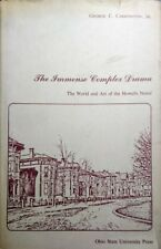 GEORGE CARRINGTON THE IMMENSE COMPLEX DRAMA WORLD AND ART OHIO STATE UNIVERSITY