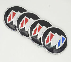 4Pcs 56.5mm Car  Logo Wheel Center Caps Covers Emblems Stickers For Buick