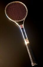 "Wilson T3000 26.5"" Squash Racquet Silver/Red/Black; 4.2"" Grip; Good, Preowned"