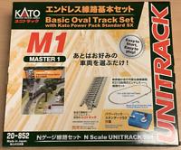 Kato K20-852 Unitrack (M1) Basic Oval Track Set With Controller N Gauge