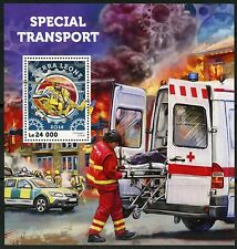 SIERRA LEONE 2016 SPECIAL TRANSPORT RESCUE VEHICLES   S/S MINT NH