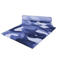 VETFLEECE Non Slip Deep Pile Fleece Vet Bed Roll Dog Cat Blue White Camouflage