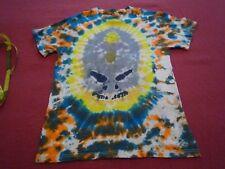 Tye Die T-Shirt Adult Small from New Orlean Artist Monster Skull Face Circa 2012