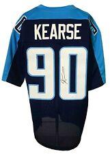 Jevon Kearse Autographed Pro Style Dark Blue Jersey JSA Authenticated