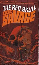 **DOC SAVAGE #17: THE RED SKULL  by Kenneth Robeson -  1st Paperback Printing