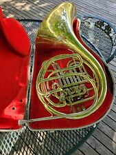 Holton H-178 Double French Horn Plays & Comes With Case Rare 1966 Serial Number